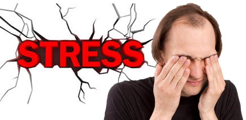 How anxiety and stress can cause hair loss