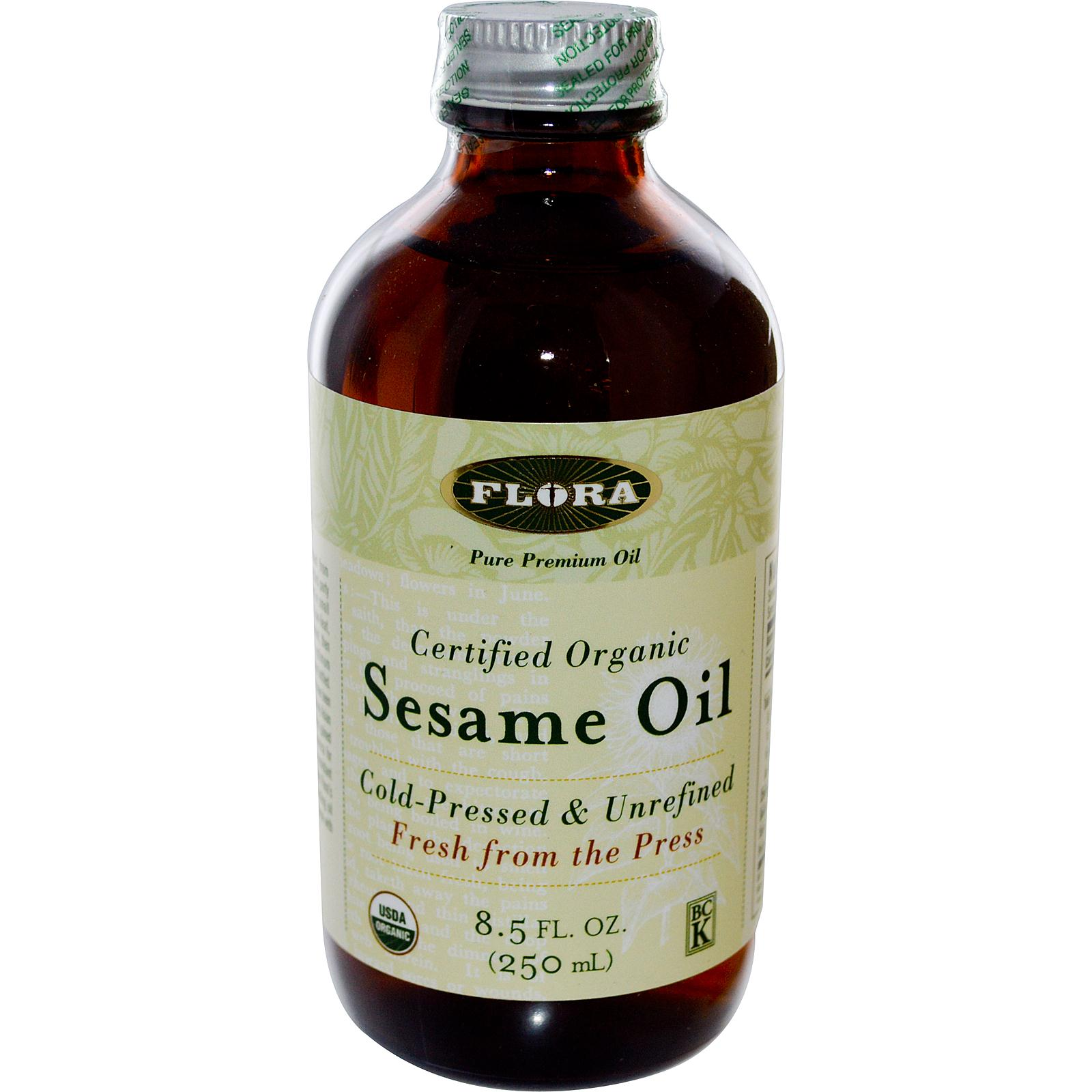 Sesame oil: benefit and harm of the product
