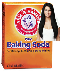 How to make a baking soda shampoo