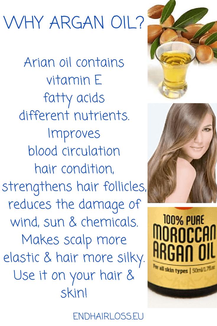 Why argan oil?