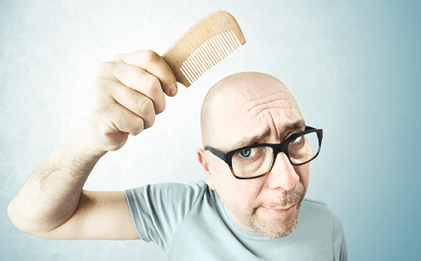 hair loss is treatable, but if you act in time
