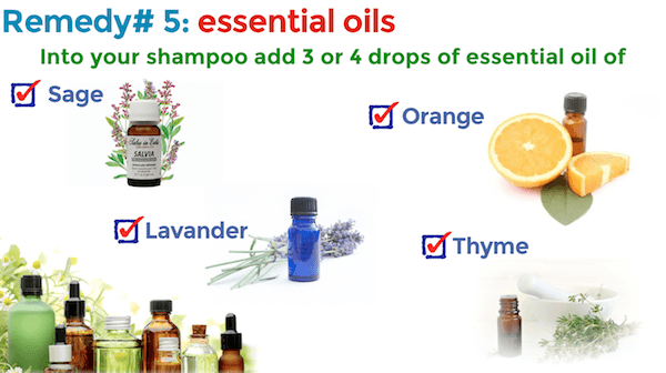 Remedies for oily hair essential oils