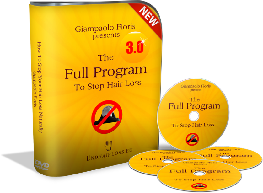 The Endhairloss.eu Full Program to stop hair loss naturally